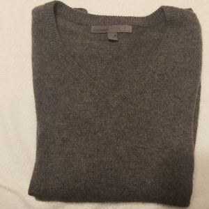 Old Navy Cashmere Charcoal VNeck Sweater